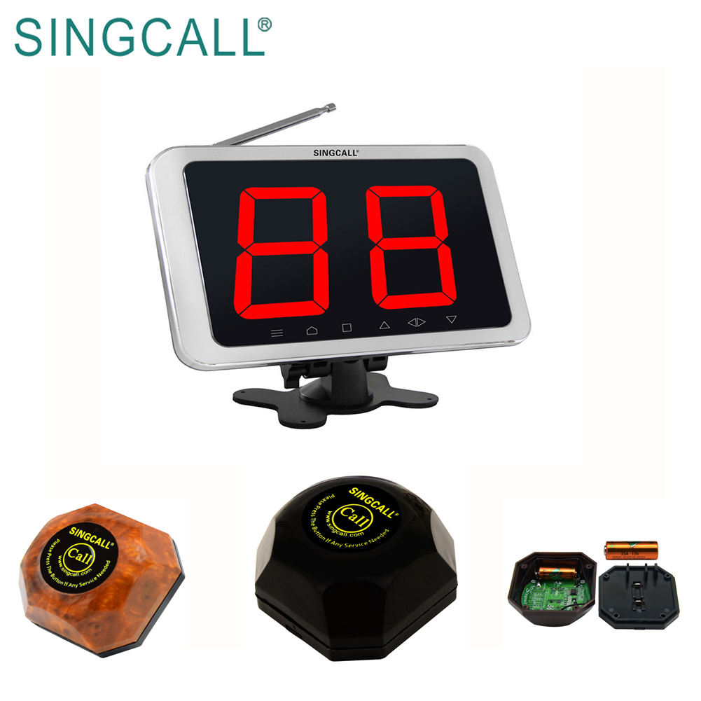 SINCGALL hot sale restaurant table calling button