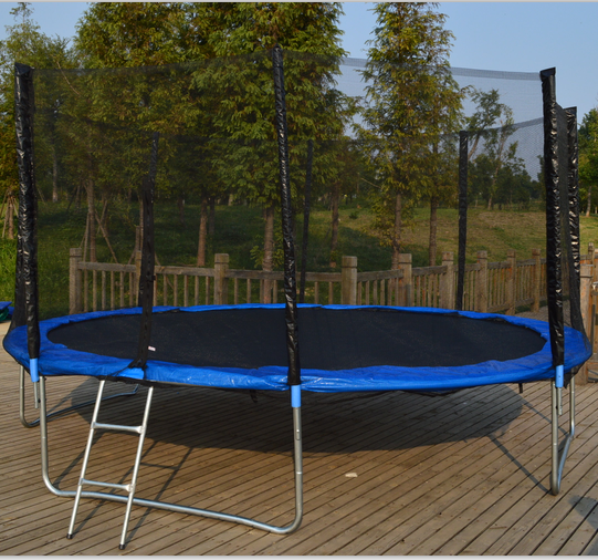 14ft Chinese factory folding bungee outdoor trampoline with BSCI certificate