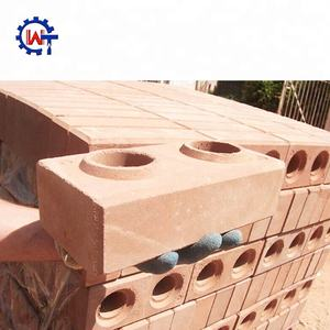 WT2-10 hot sale china full automatic clay brick making interlocking brick mold