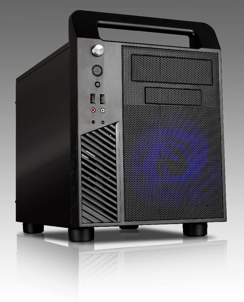 Micro ATX Cube PC gaming custodia con maniglia