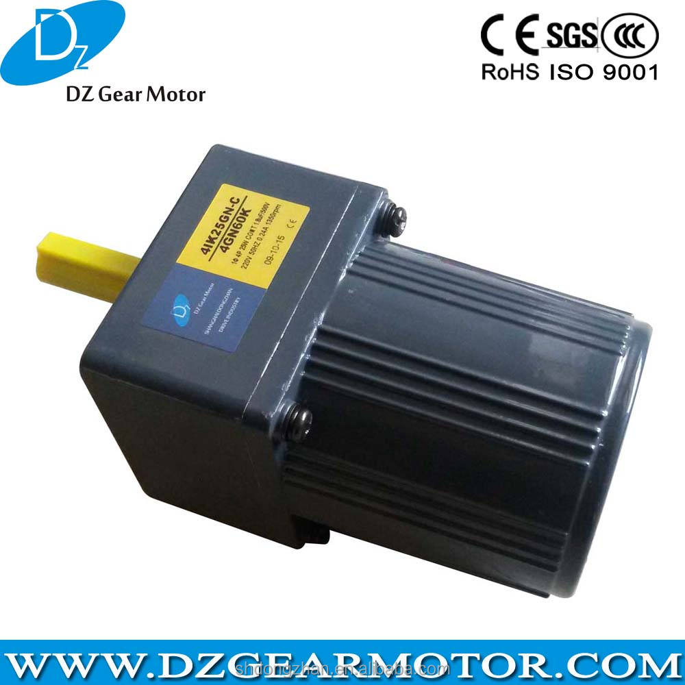 High Torque 1 phase electric motor