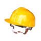 PE materials plastic buckle lining industrial safety helmet with chin strap