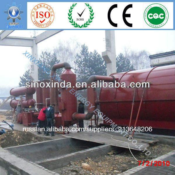 xd отходов переработки шин завод без загрязнения окружающей среды