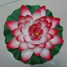 large size artificial floating water lily,decorative floating water lotus