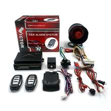 Victor car Anti-hijacking alarm as para auto security systems with keyless remote central locking alarma de cocge