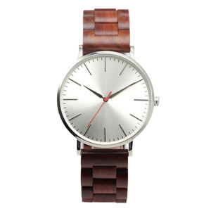 2018 new oem stainless steel wood watch