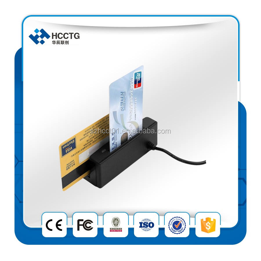 <span class=keywords><strong>Bluetooth</strong></span> lettore <span class=keywords><strong>di</strong></span> schede magnetiche scrittore mini/mobile card reader emv-HCC100