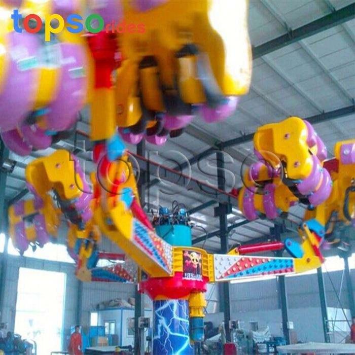 Thrill Rides garra energía Popular parque de atracciones monta máquina