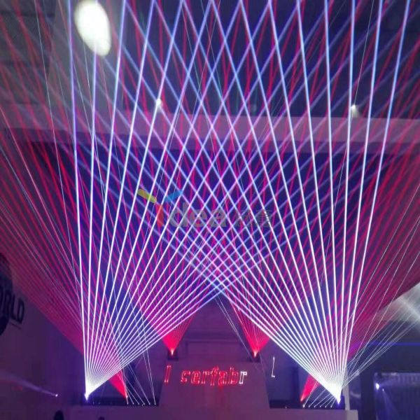 5W RGB Laser Projector Stage Animation Light 40Kpps ILDA Small Beam Full Color