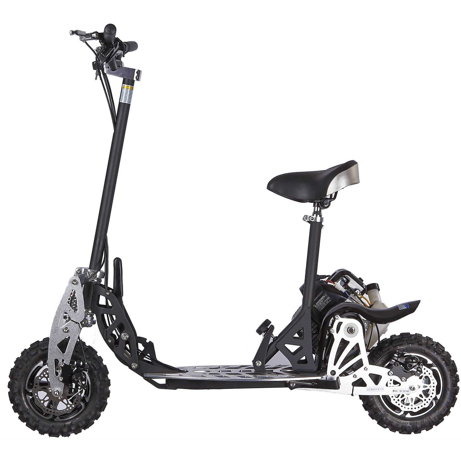 Uberscoot CE CERTIFIED off road 50cc gas scooter for hot sale