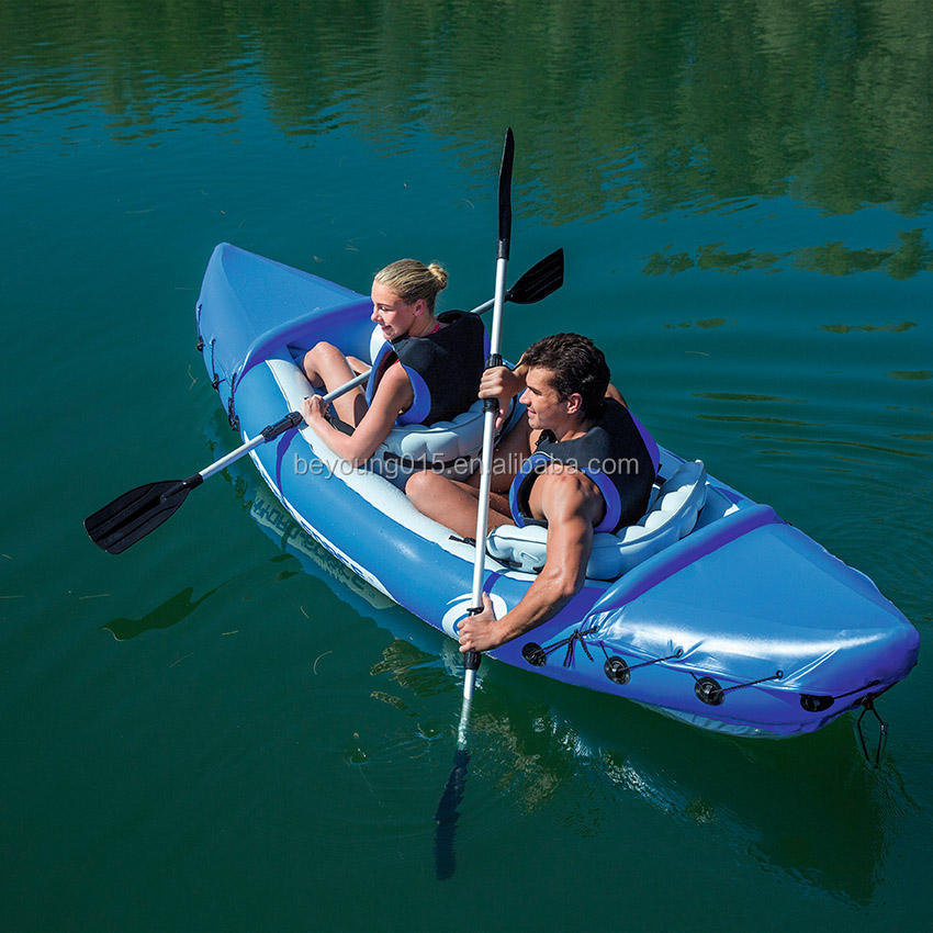 Bestway 10.5ft durable Lite-rápido inflable kayak barato para 2 Persona