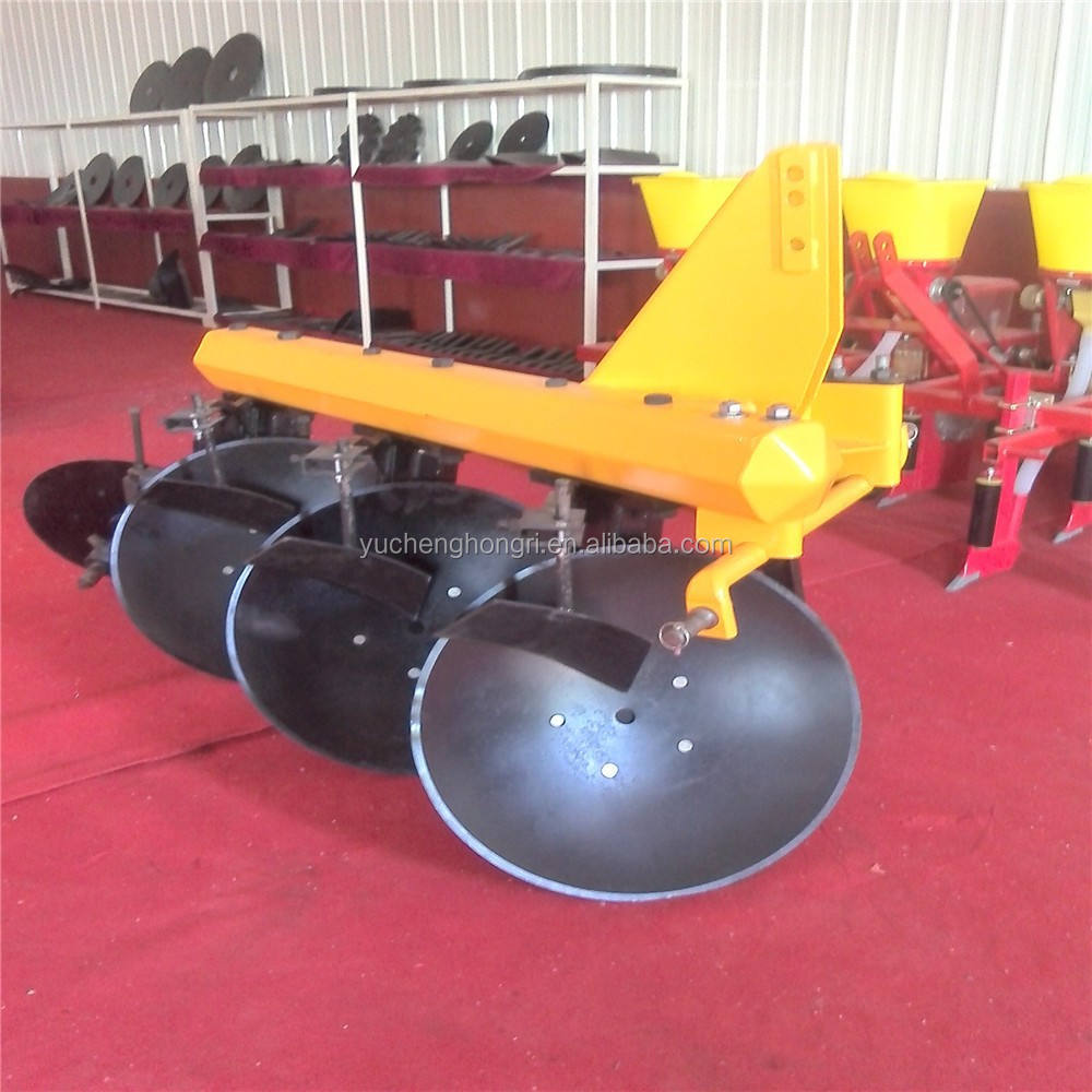 Agricultural machinery farm tractor connected 3 disc plow/plough