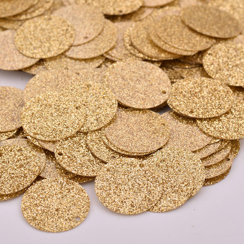 500g 18mm Gold Silver Sewing Large Sequins Flat Round Paillettes Earring Pendant for DIY Clothes Crafts Home Decoration