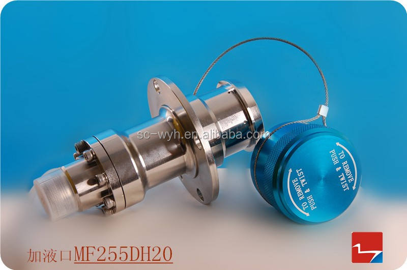 high quality cryogenic filling receptacle LNG valve