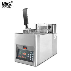 Table top Automatic Lift-up Electric commercial deep fryer