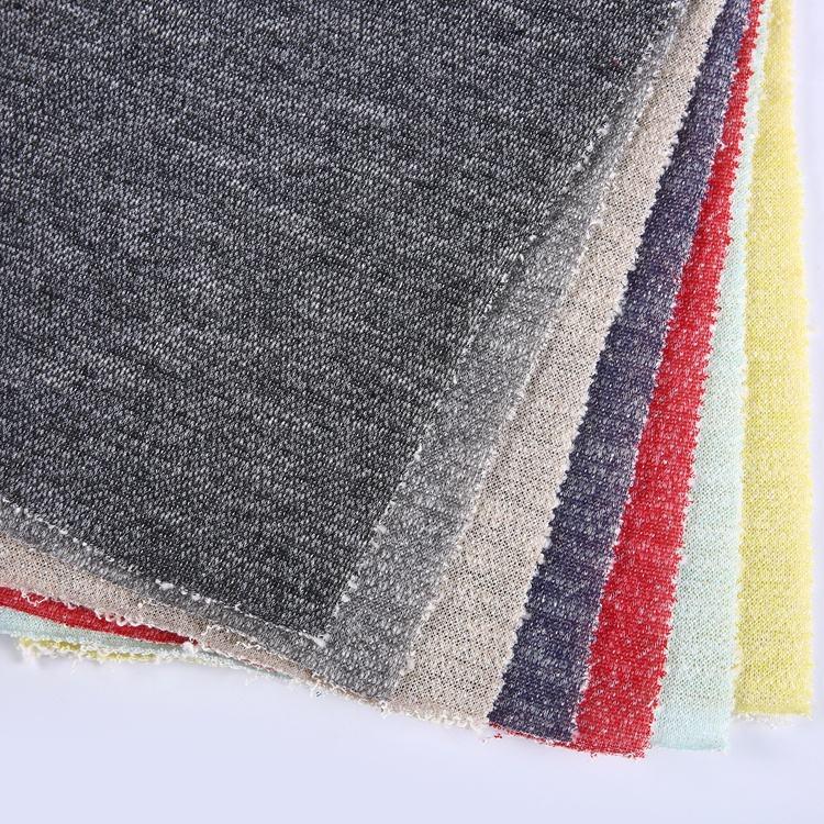 Textil de punto de poliéster bebé francés <span class=keywords><strong>terry</strong></span> de algodón tejido tela del paño de <span class=keywords><strong>terry</strong></span>