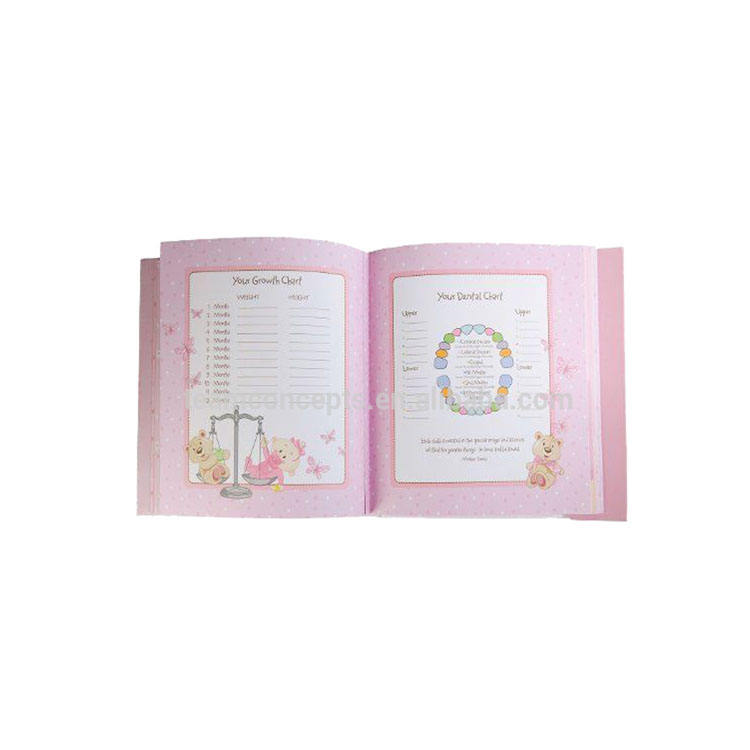 Baby Record Book Crazy Record Keepsake Gift Book For Baby