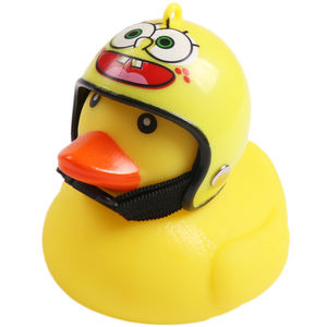 YD19-32 Safe rubber non-toxic Yellow Rubber Bath Ducks Natural Cute Rubber Ducky for Baby Toys