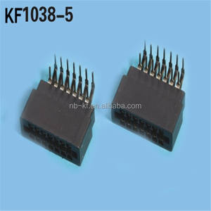 2.54mm 6/8/10/12/14/16/18/20/22/24/26/30/36/40/44/46/50/56/60/62/72/98pin right angle edge card connector slot