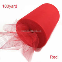 100% nylon soft tulle fabric wholesale tulle rolls tulle spool for tutu
