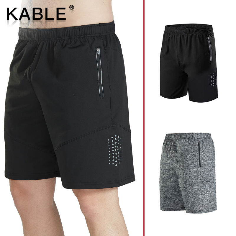 Wholesale Fitness Male Gym Athletic Shorts Custom Logo Private Label Men Sports Shorts