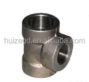 Carbon Steel A105 Socket Welded Tee Forged Fitting