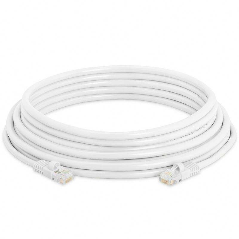 Outdoor Rj45 Patch Cord Cat5 CAT6 4 P <span class=keywords><strong>SFTP</strong></span> 100 Ft Jaringan Ethernet 2 Pasang Cat6 UTP LAN Kabel