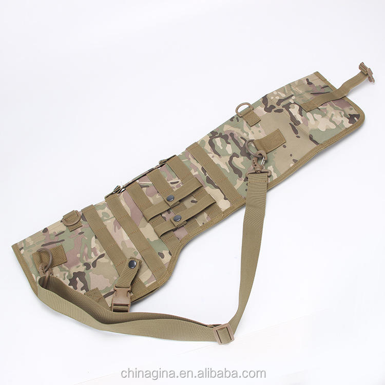 Tactical Holster of long-barrelled gun/spear/ pike , Gun Holder with military belt