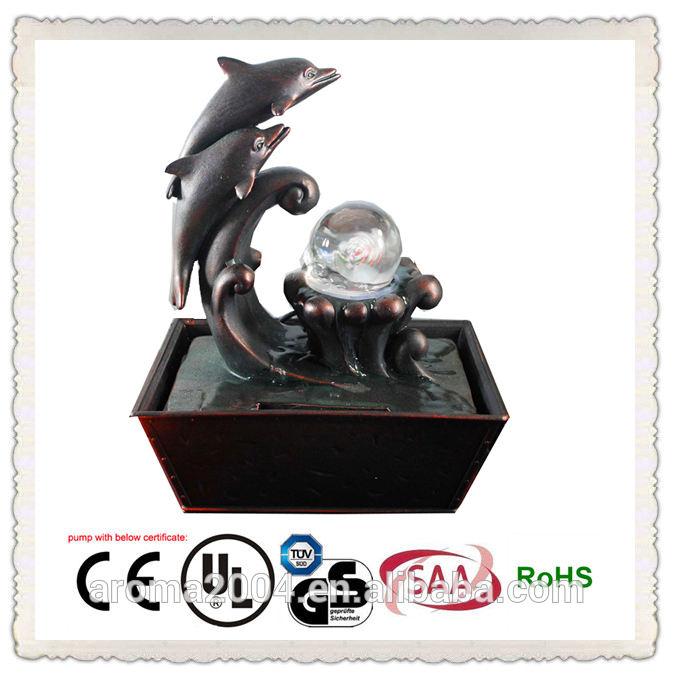 Brunnen tischplatte tier-design delphin raumdekorationen
