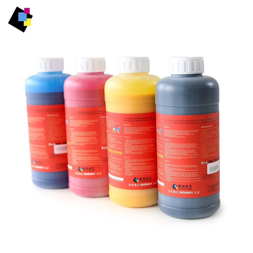 Universal Eco Friendly Leve Eco Tinta Solvente Para DX4 DX5 DX6 DX7