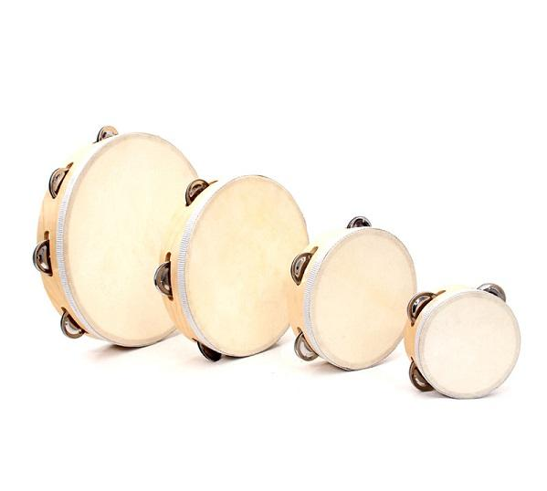 Vỏ tambourine treo trống trống bán
