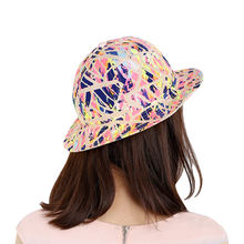Wholesale Custom High Quality Printed Women Bucket Hats