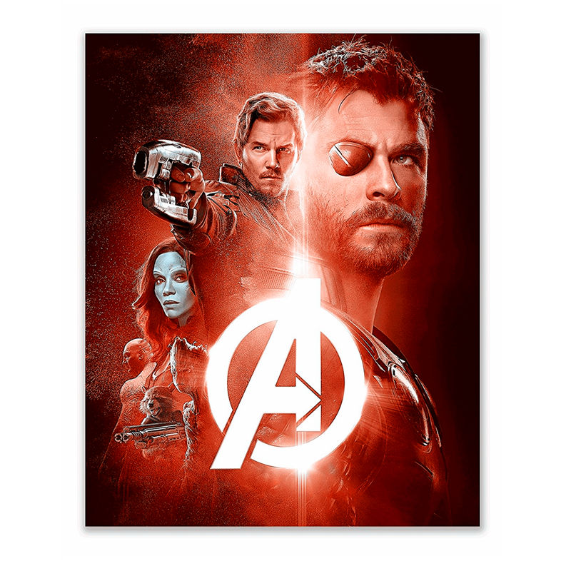A1 - A5 SIZES AVAILABLE CAPTAIN AMERICA MOVIE GLOSSY WALL ART POSTER