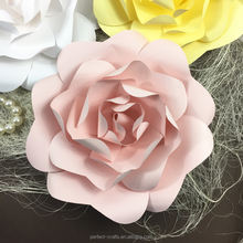 Handmade paper flowers for stages decor