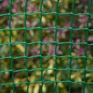 HDPE square hole plastic portable yard mesh garden decoration fence
