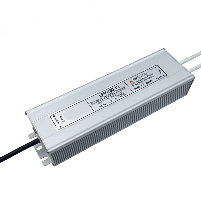 Internationalen wasserdichte elektronische led-treiber ip67 12 v 150 watt