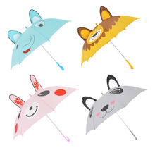 Custom Child Umbrella Animal Frog Rabbit Cartoon Character  Angels Umbrella