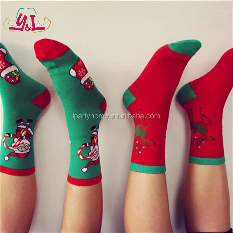 Festival & Party Supplies Knitted Christmas Socks For Party Decoration
