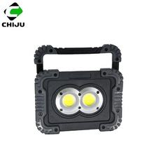 Cordless LED Work Light Floodlight Outdoor Waterproof Flood Lights for Camping