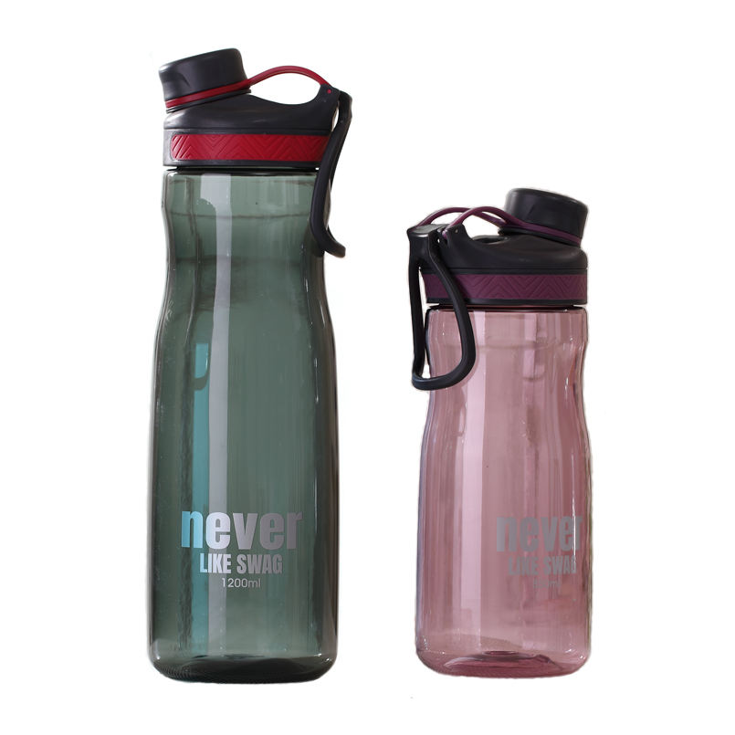 Plastic water bottle 1000ml bpa free large capacity for sport outdoor