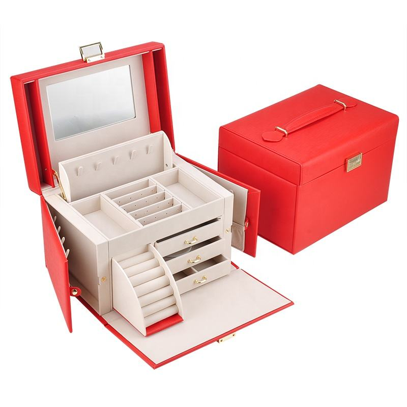 Multifunctional portable jewelry box design your own jewellery box