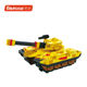 China manufacture DIY 3D wooden toy Tank with painting for kids