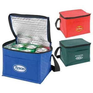 Polyester Wholesale Insulated Ice Wine Collapsible Ice Cream Lined Dry Lunch Aluminum Thermal Cooler Bag