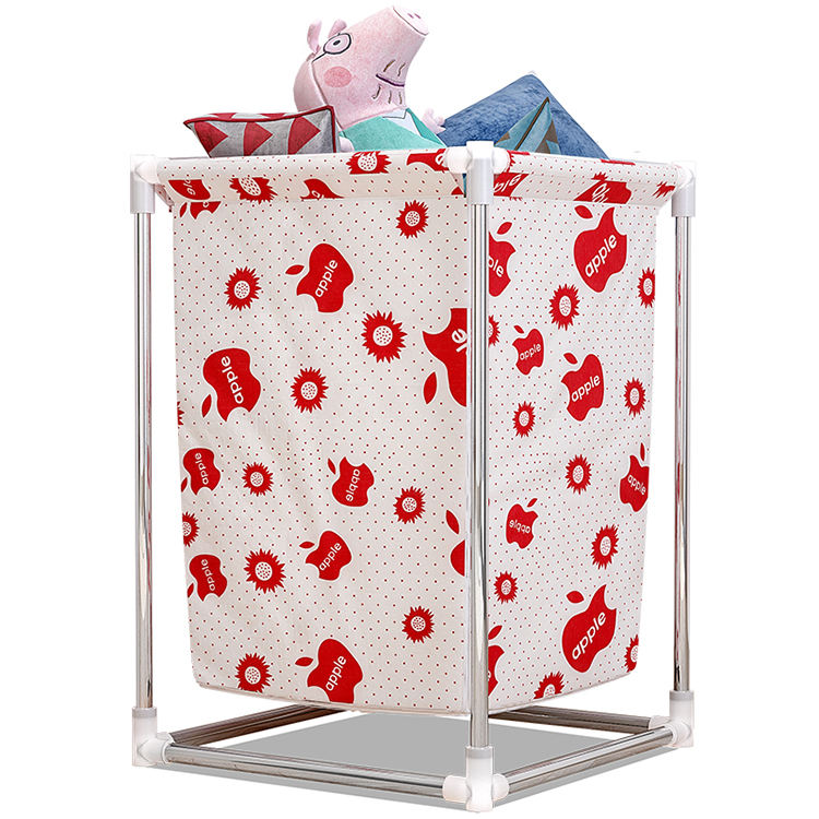 Large Laundry Hamper Basket Wheels Durable Dirty Clothes Bag Collapsible laundry storage basket