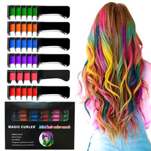New Listing 6PCS/SET Mini Disposable Personal Salon Use Hair Dye Comb Professional Crayons