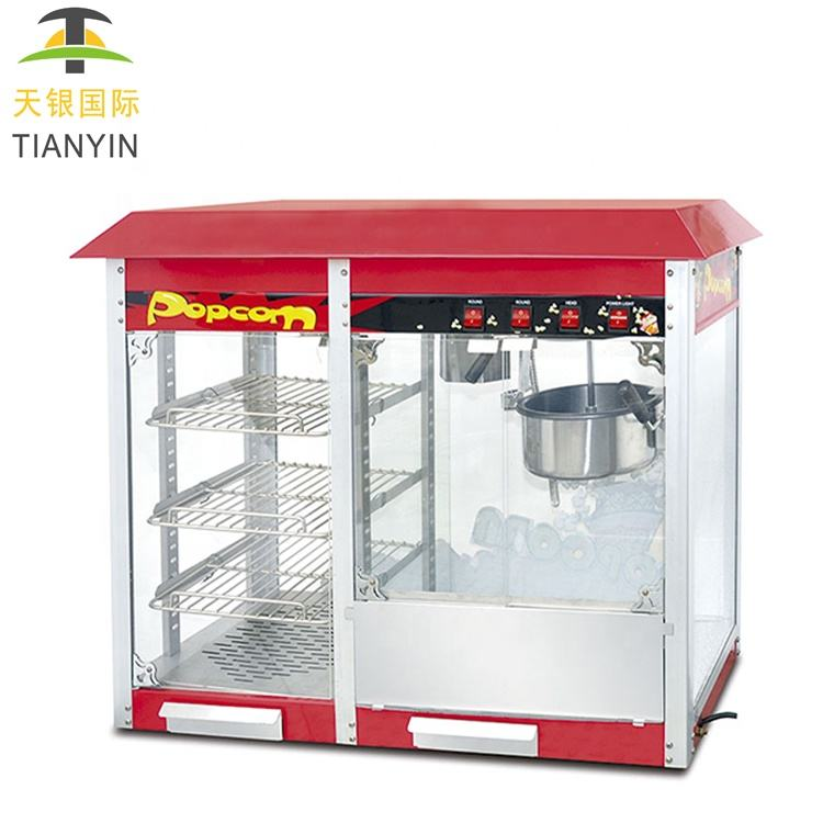 Tianyin Rvs Industriële Commerciële Air Popping Popcorn Machine