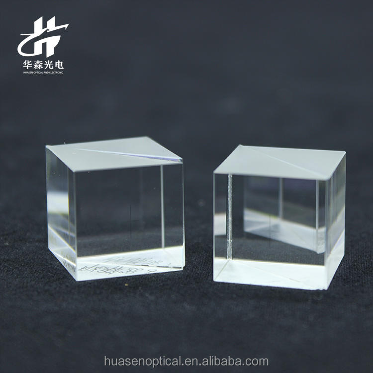 Huasen factory direct sale varied shapes optical agglutinate prism