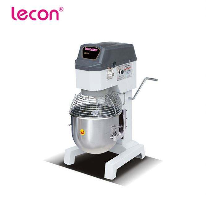 Small Bakery Equipments Planetary Cake Mixer 20L
