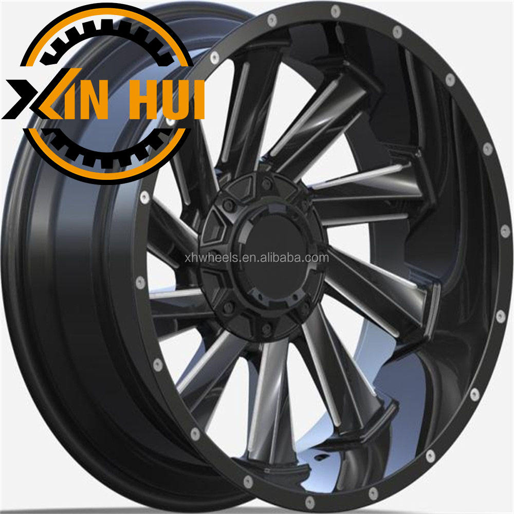 5 6 hole alloy wheel ET -44 rim 20 22 inch tyre