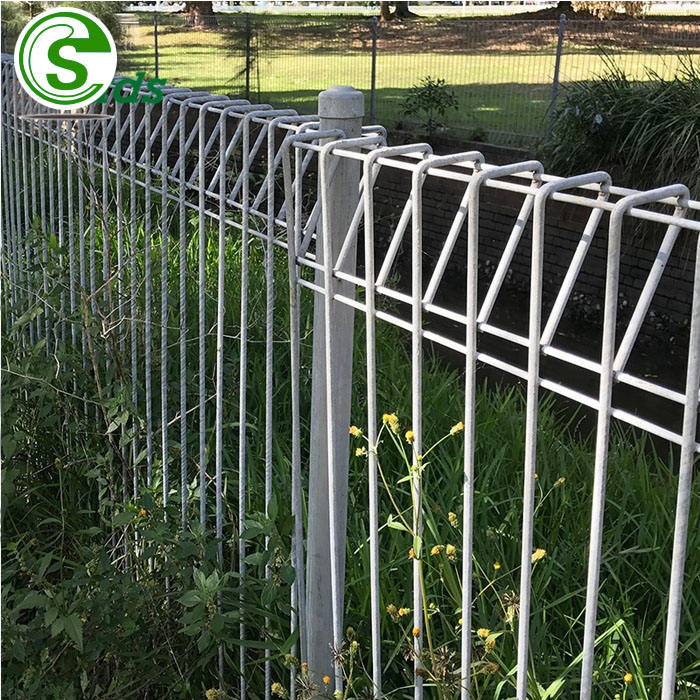 Industrial production brc anti climb fence brc mesh fence